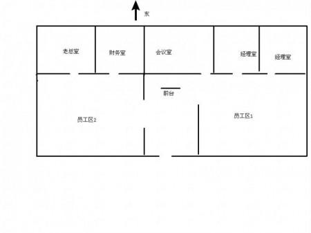 高铁站绿地之窗380平带家具写字楼出租