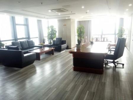 东站南 河南商会大厦1700平豪装全套家具低价出租