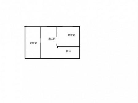 升龙广场高铁站108平精装2隔断带家具