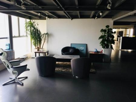 东站南 正商和谐大厦 485平精装全套家具复式低价出租