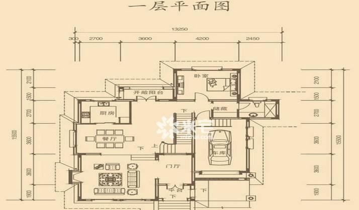 林溪湾户型图