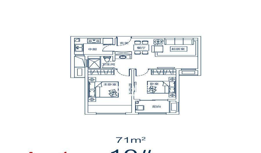 东润玺城户型图