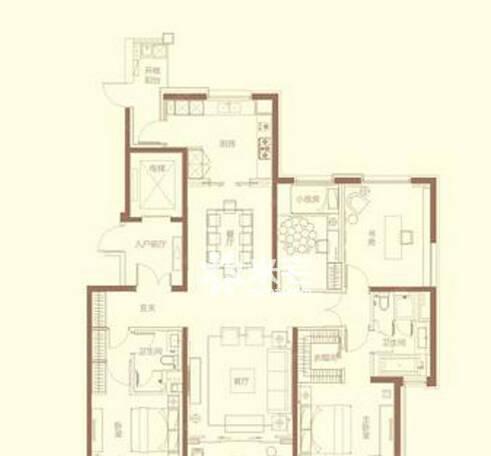 建业天筑户型图