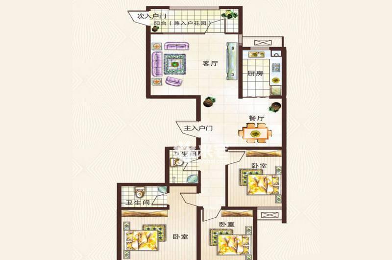 正商城户型图