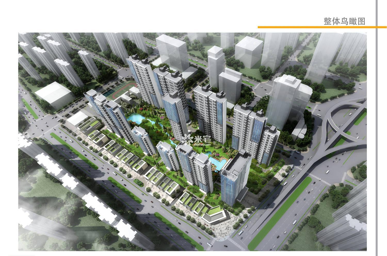 建业天筑实景图