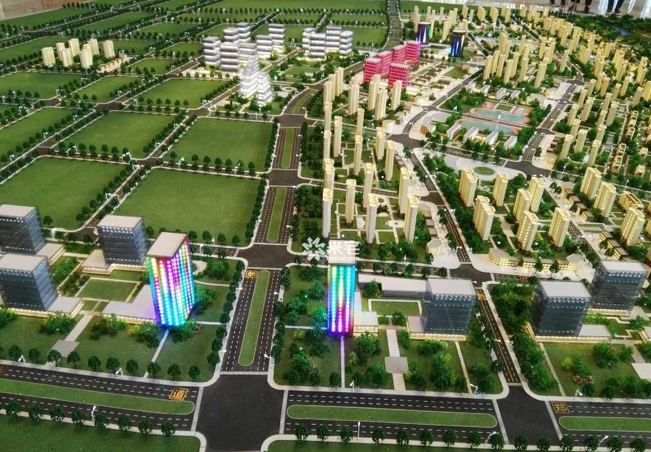 绿地公园城实景图