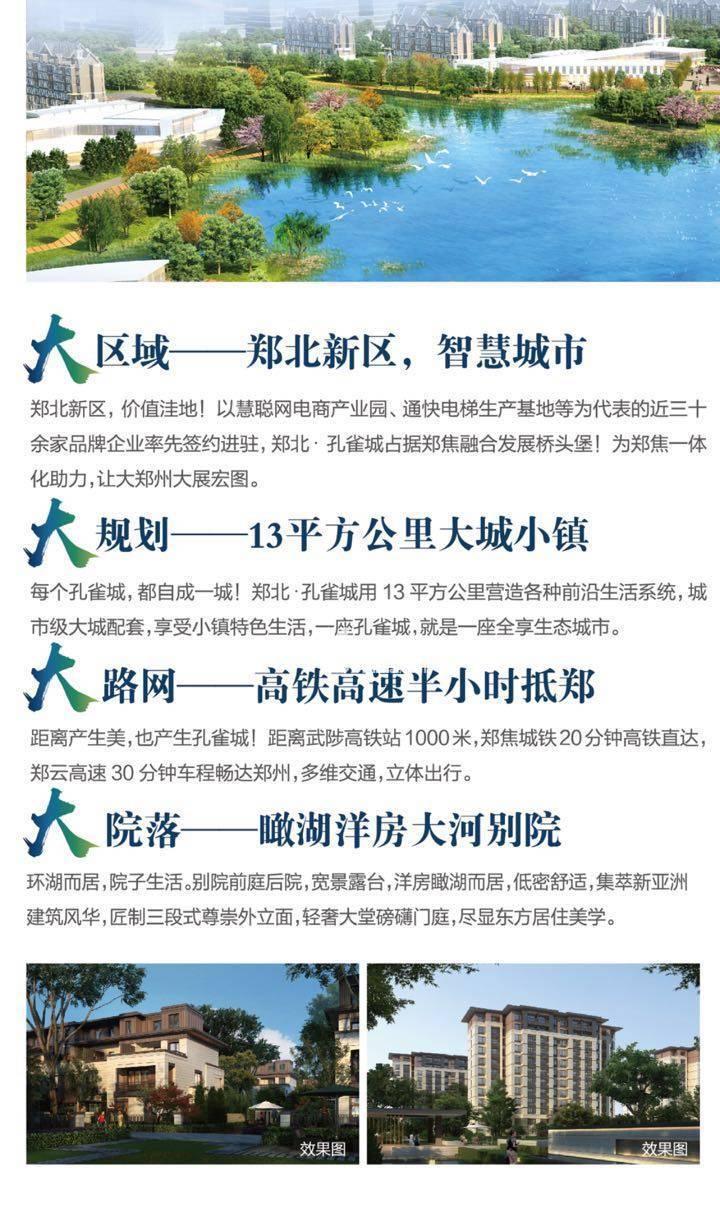 郑北孔雀城效果图