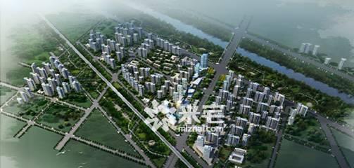 泰宏建业国际城效果图