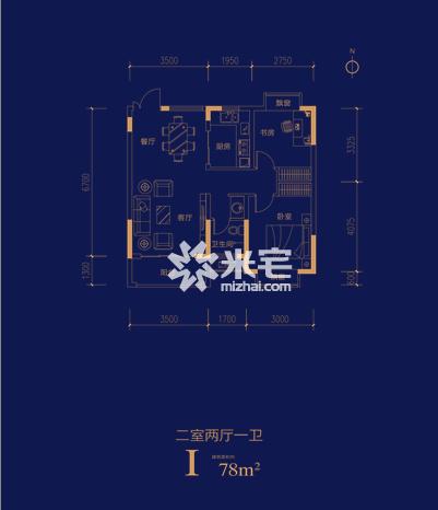 旭瑞和昌溱水壹号户型图